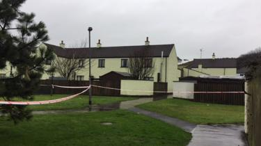 The second device exploded in Ballaghmore Court