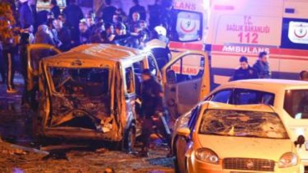 انفجار في اسطنبول