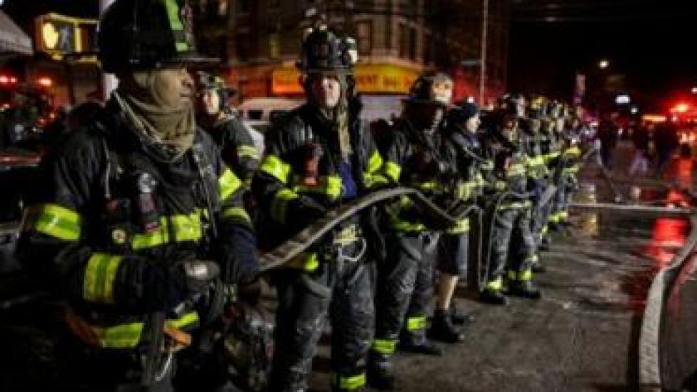 Bomberos de New York