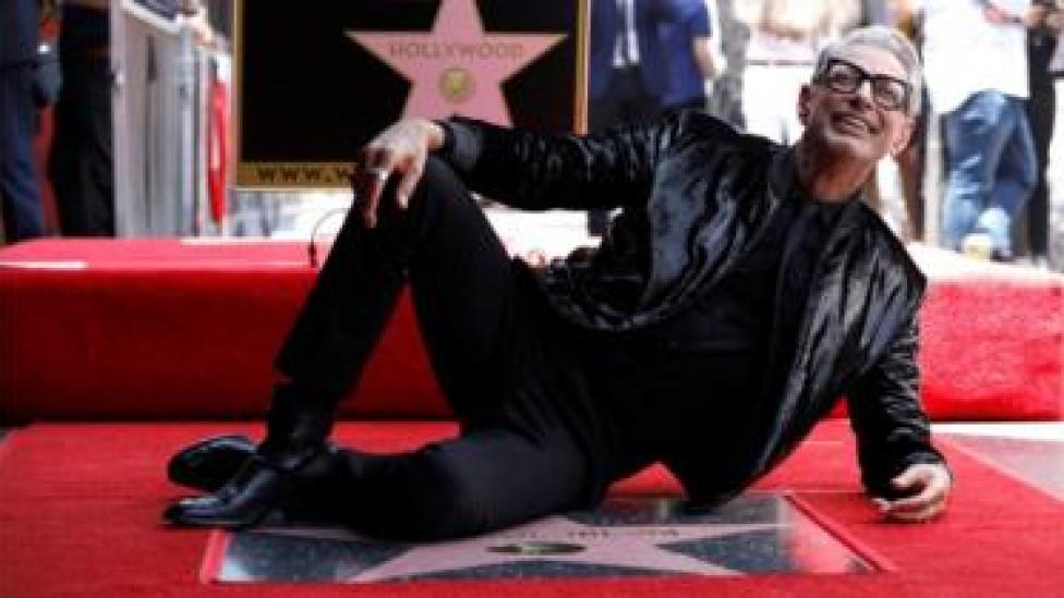 Atoore Jeff Goldblum ayaa ka mid ahaa dadkii ugu dambeeyay ee xiddigta heley