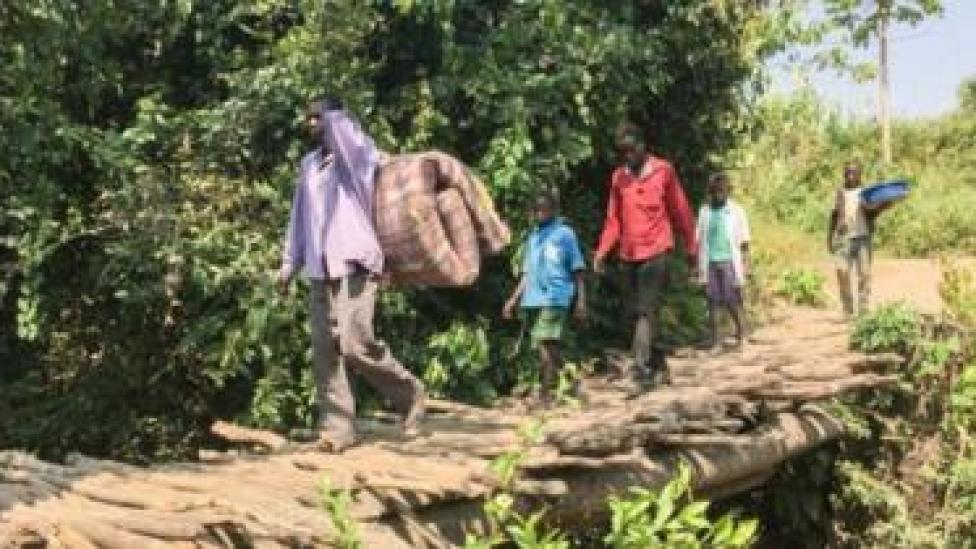 Dad ka soo qaxay dagaalka South Sudan