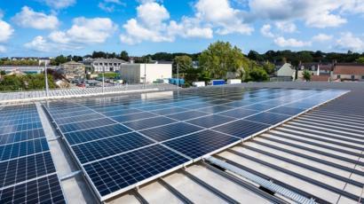 Solar Panel array.