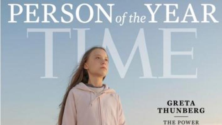 Greta Thunberg Time dergisinde