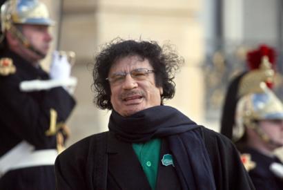 Ex-líder líbio Muammar Gaddafi