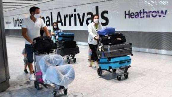 Arrivals at Heathrow