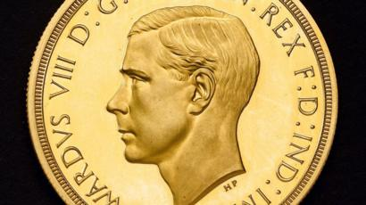 The coronation remembering coin of king edward viii sold in auction for record price