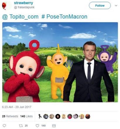 Emmanuel Macron S Official Portrait Prompts A Meme Frenzy Bbc News