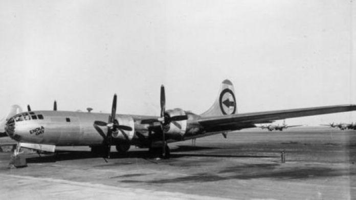 अमरीकी वायुसेना का बी- 29 विमान 'एनोला गे'