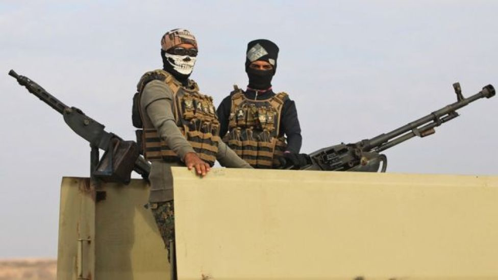 Estados Unidos percibe como una amenaza a los grupos paramilitares chiitas proiraníes que operan en Irak.