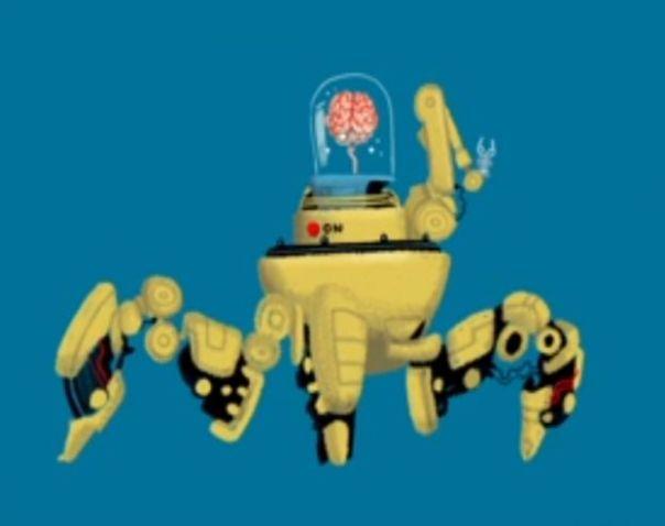 Animación sobre evolución del hombre hecha por Cognitive para BBC 4