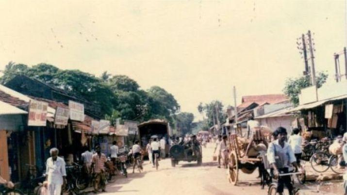 جافنا کے بازار کا ایک منظر