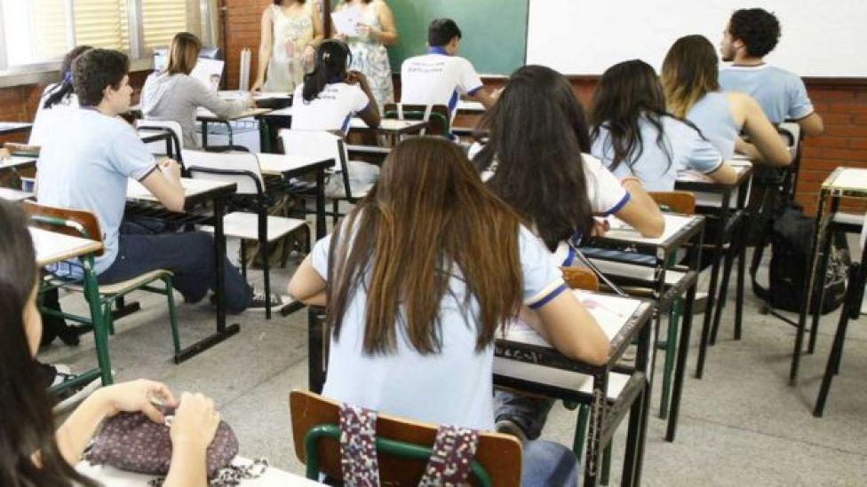 Estudantes no Rio, em foto de arquivo