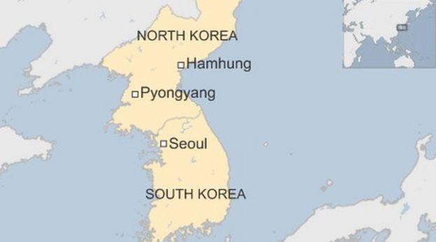 Hamhung map