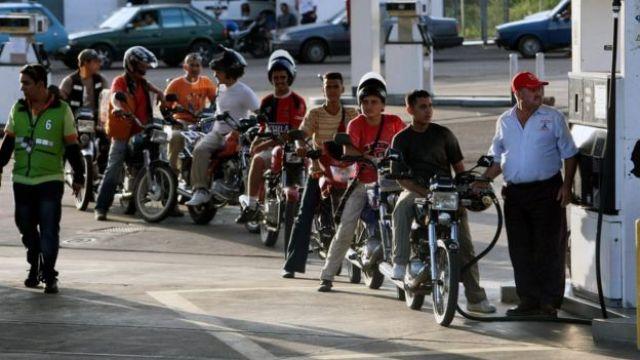Posto de gasolina na Venezuela