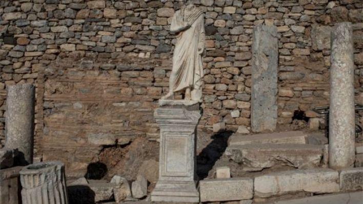 ما تبقى من معبد إغريقي في تركيا