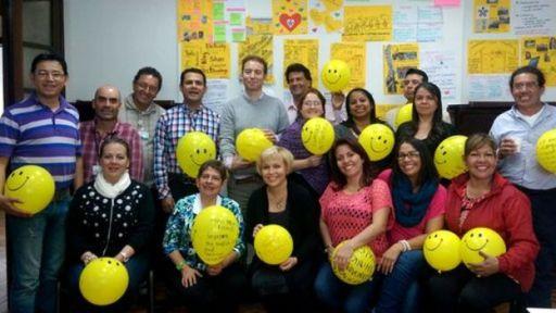 Profesores del SENA, Servicio Nacional de Aprendizaje de Colombia, que trabajaron con la Universidad de Ciencias Aplicadas Haaga Helia