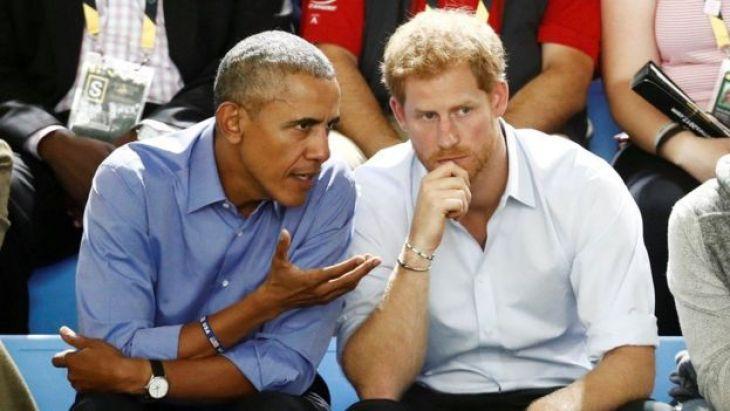 बराक ओबामा, प्रिंस हैरी