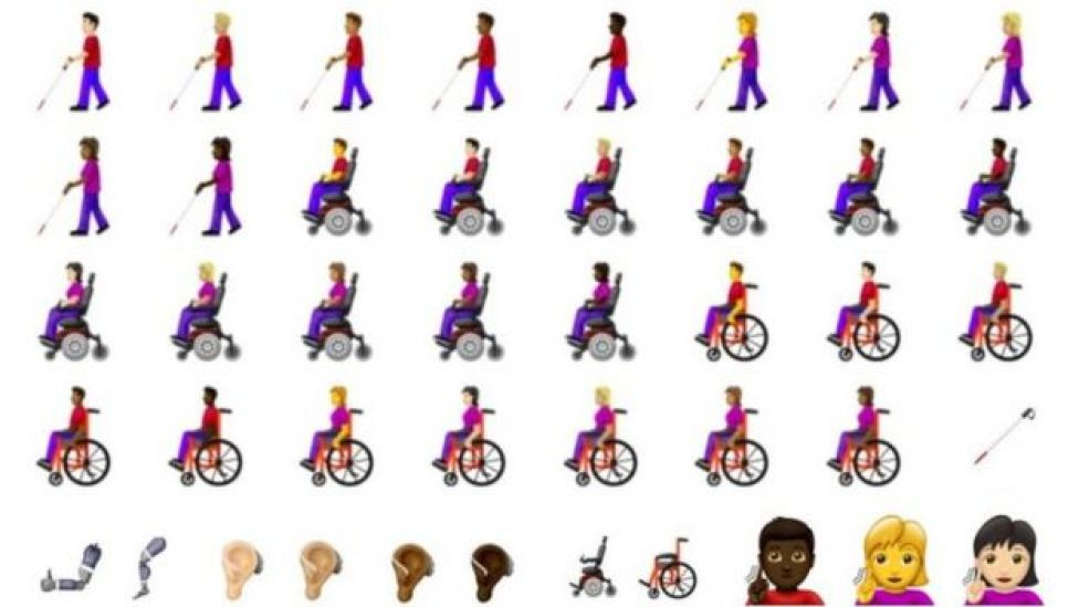 New disability-themed emojis