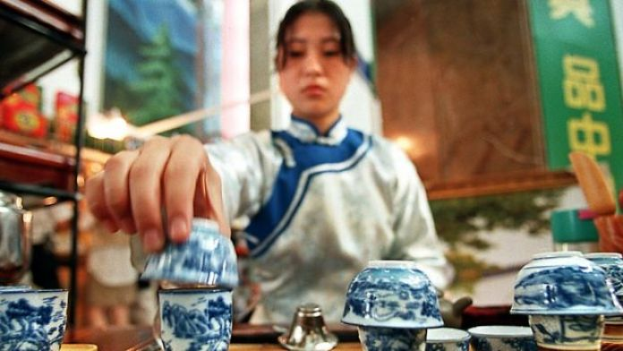 Ceremonia del té en China