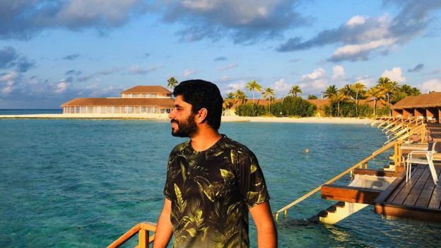 Khalid in the Maldives