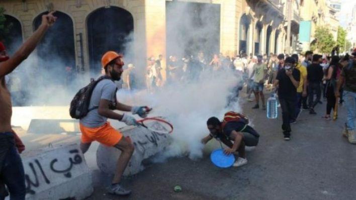 اشتباكات وقعت بين الشرطة ومحتجين الأسبوع الجاري