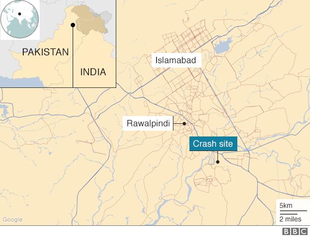 ramani ya Rawalpindi