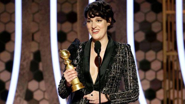 """Phoebe Waller-Bridge ganó su primer Golden Globe por su interpretación en la serie de su autoría, """"Fleabag""""."""