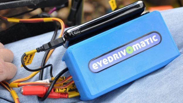 The Eyedrivomatic equipment