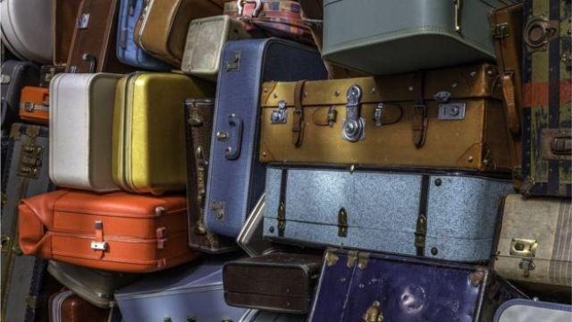 Pilha de malas