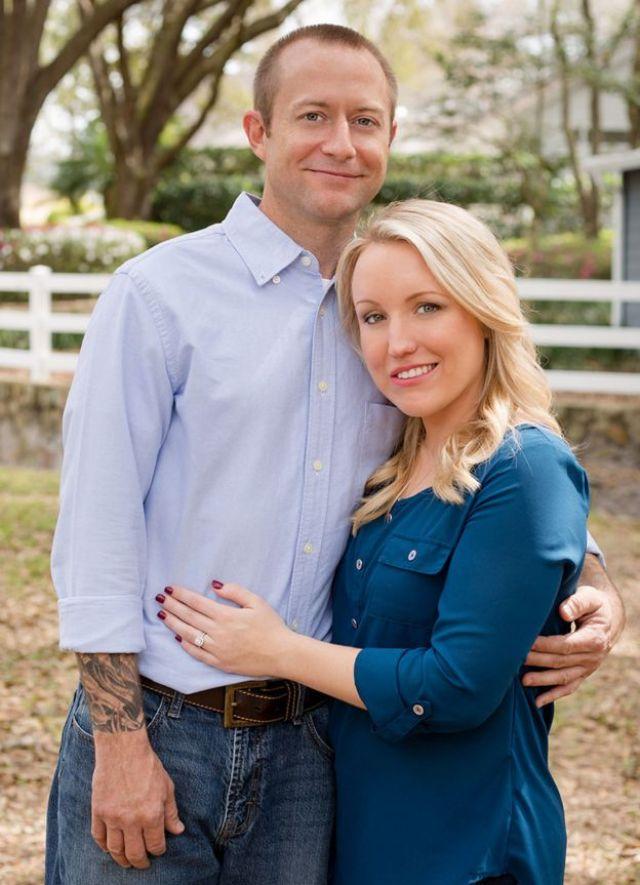 Melissa Dohme y Cameron.