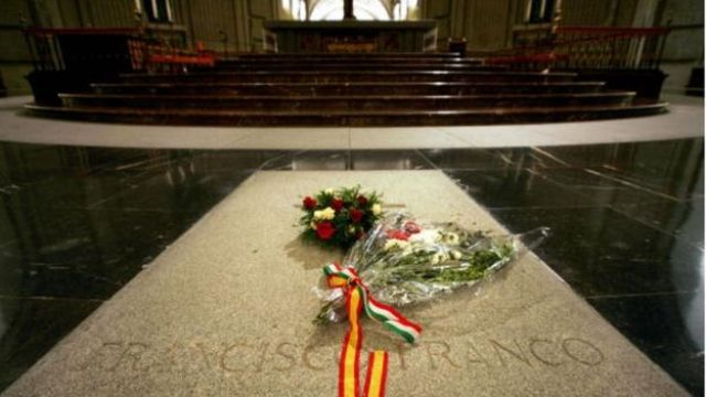 Tumba de Francisco Franco