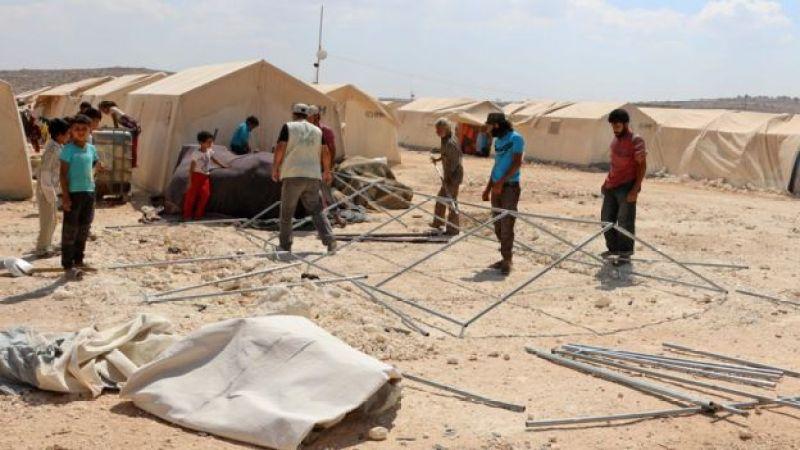 лагерь беженцев у турецко-сирийской границы 6 сентября
