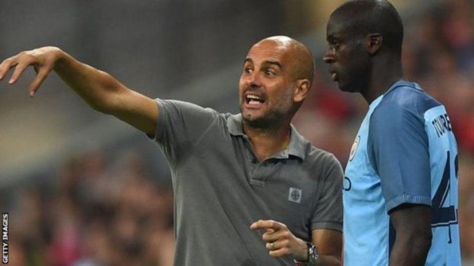 Yaya Toure adai Guardiola alimuonyesha ukatili