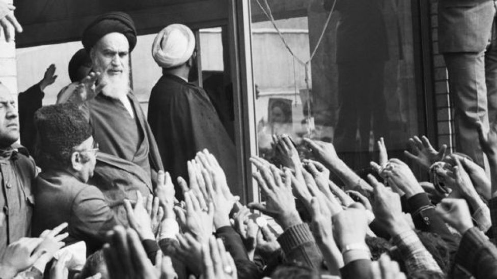 Ayatollah Khomeini.