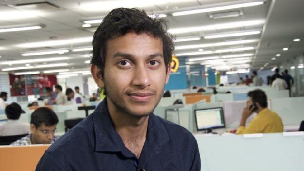 Ritesh Agarwal, portrait photo