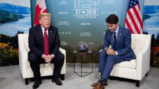 Trump e Trudeau