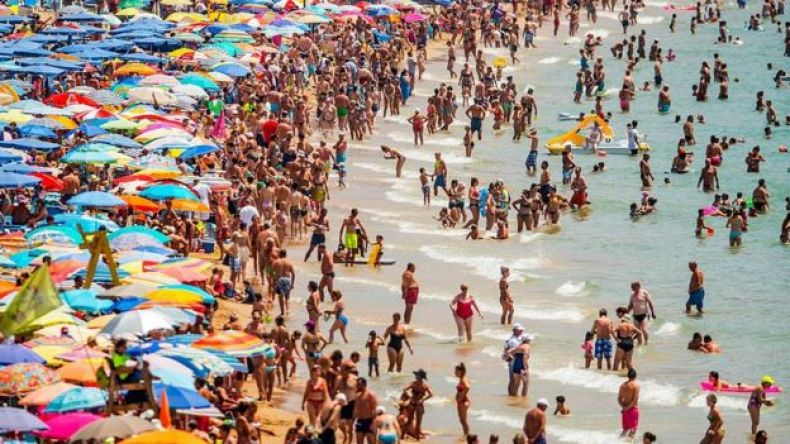 Playa de Levante, Benidorm (España)