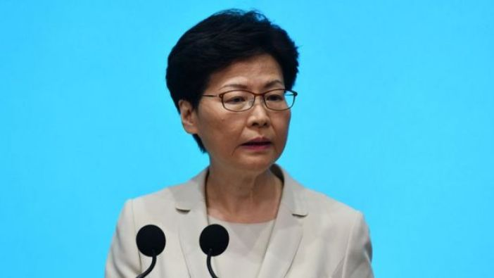 Carrie Lam, la jefa ejecutiva de Hong Kong