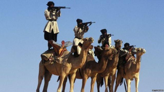 Brigade nationale mauritanienne en 1996