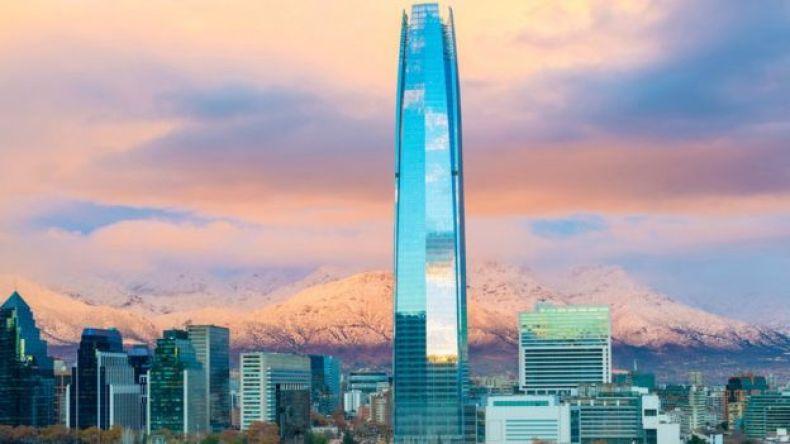 Panorámica de Santiago.