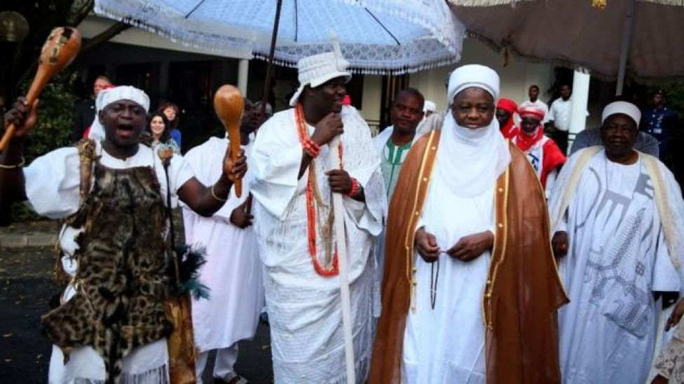 Ooni of Ife and Sultan of Sokoto