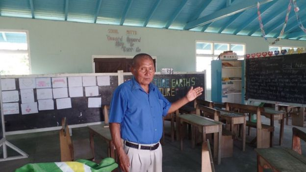 Stephen Demetro, head teacher of Moco-Moco Primary School.