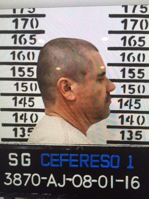 El Chapo permanece encarcelado en el norte de México.