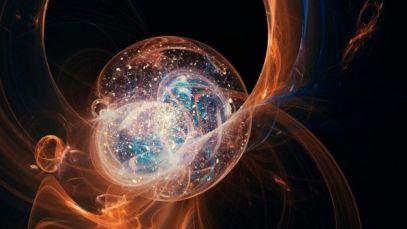 Una imagen artística del Big Bang