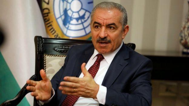 Palestinian Prime Minister Mohammad Shtayyeh