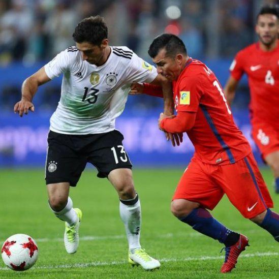 Alemania y Chile