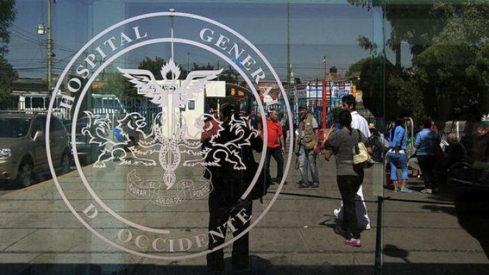 Ventana del Hospital General de Guadalajara