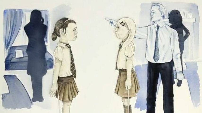 Abbie y Tasha (ilustración)