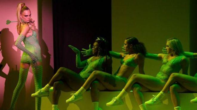 Cara Delevingne at Rihanna's Savage Fenty X show