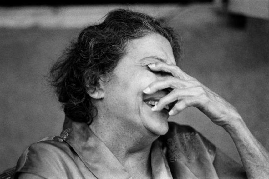 My grandmother, Bombay, 1980